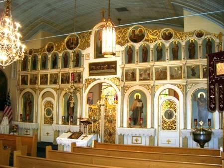 St Nicholas Ukrainian St Clair Iconostasis 2.jpg