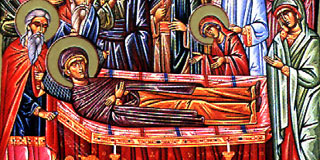 Dormition of Anna, the Mother of the Mother of God