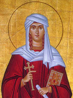 Protomartyr Thekla, Equal of the Apostles